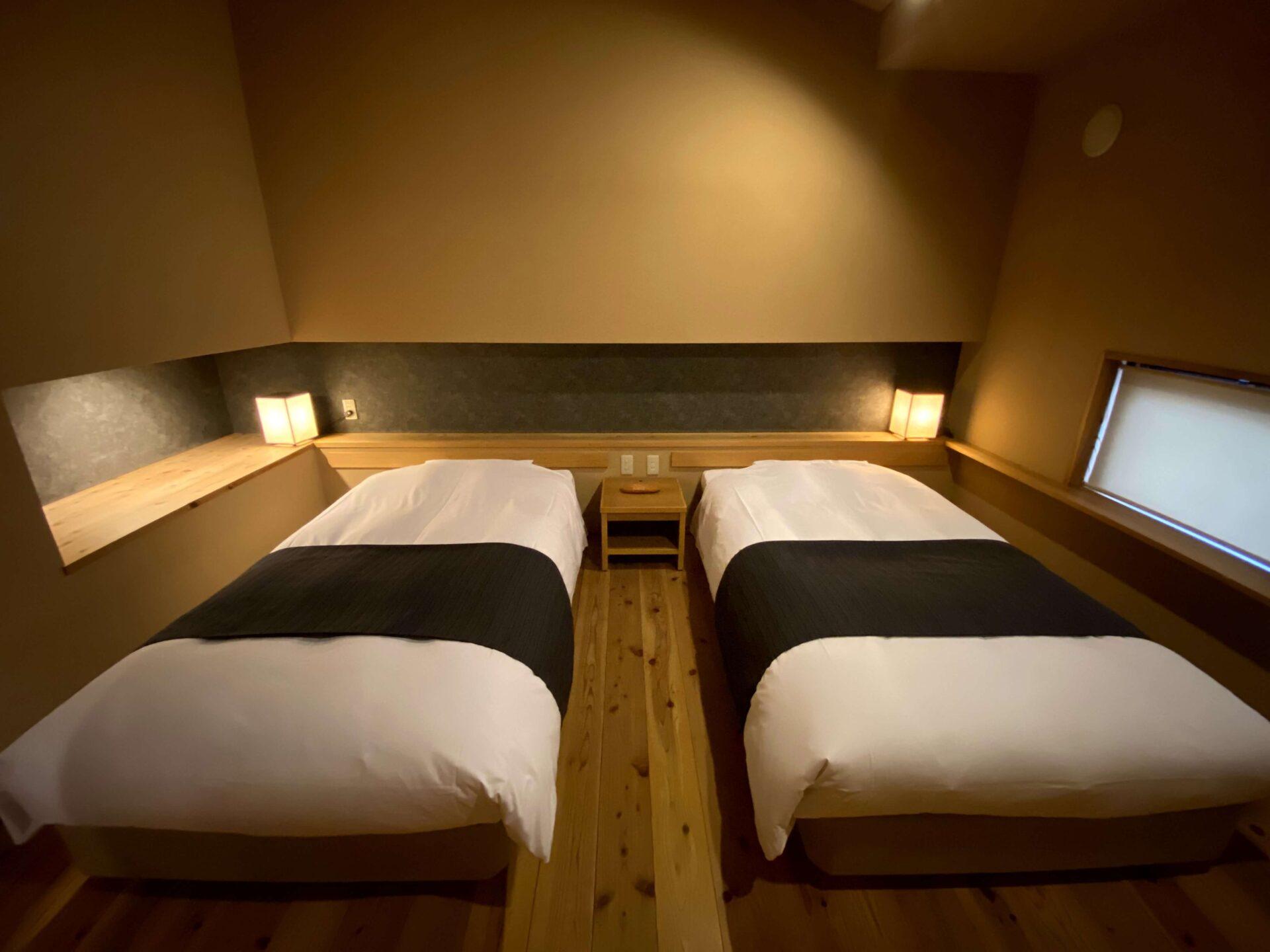 熊野倶楽部 部屋 寝室