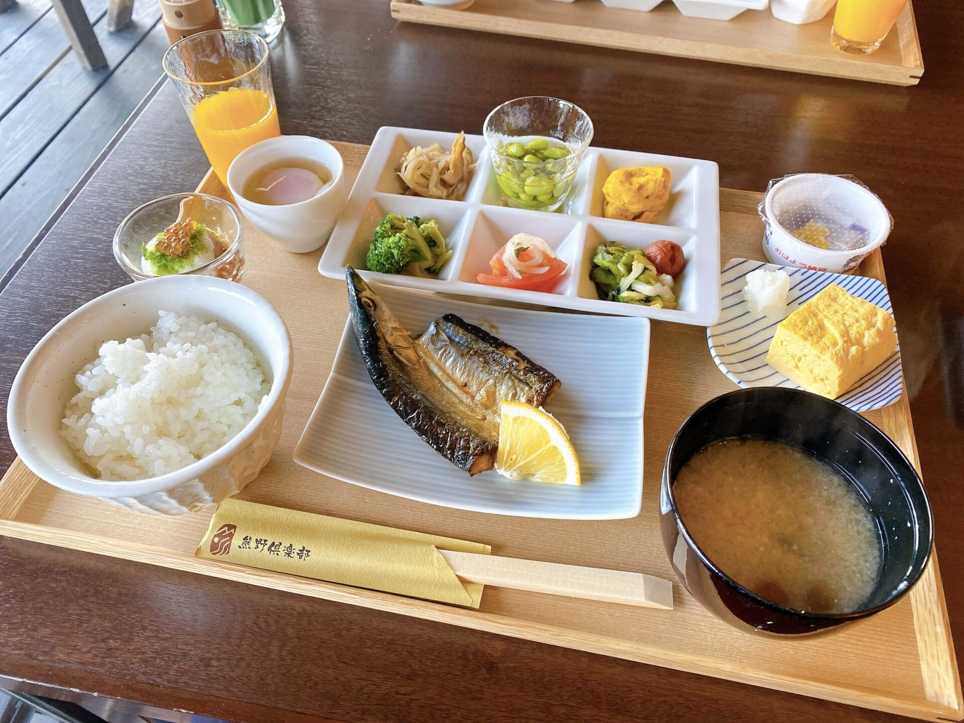 熊野倶楽部 朝食 バイキング