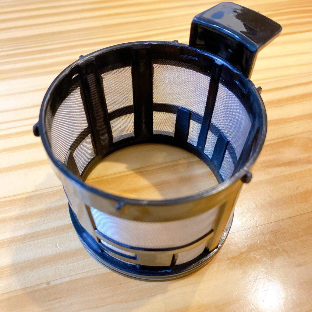 シロカのコーヒーメーカーのステンレスフィルター