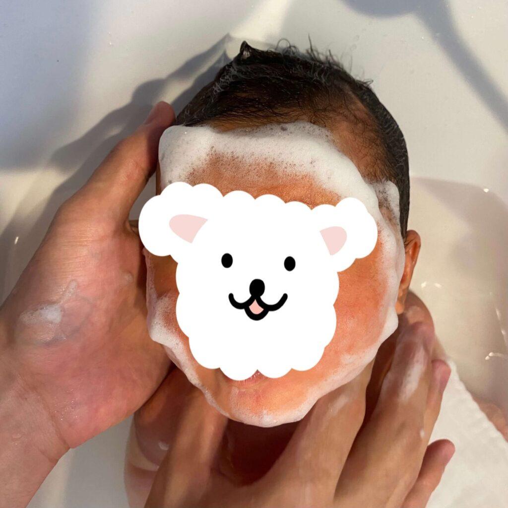 nico石鹸と赤ちゃん