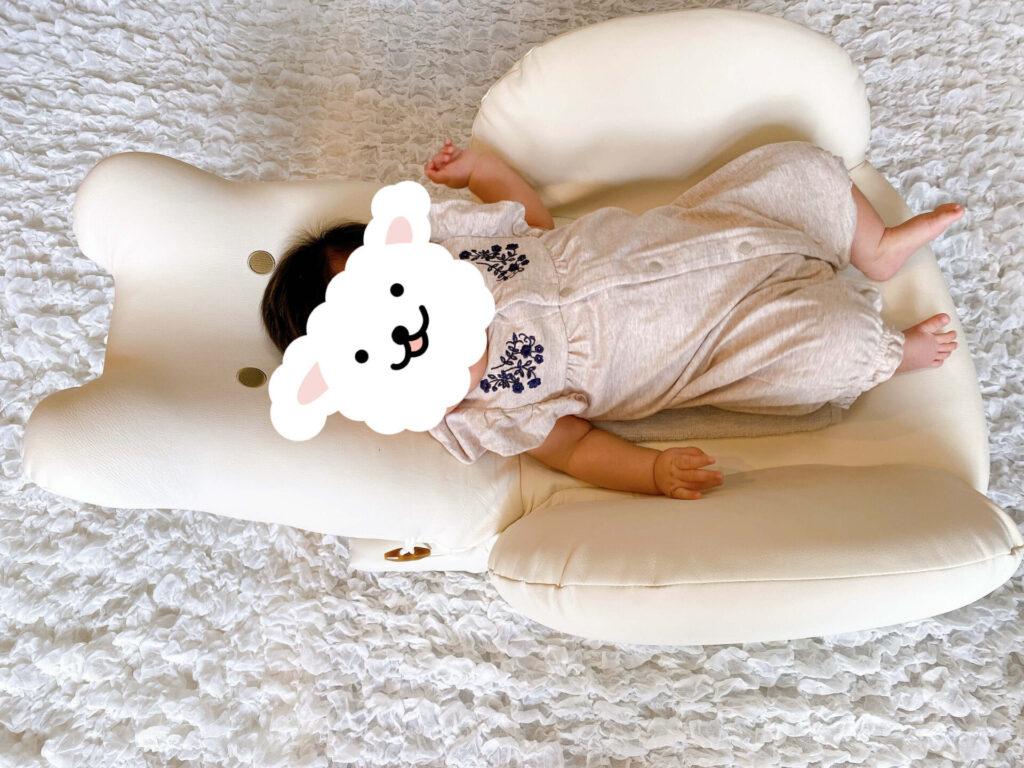 テディハググランスイングプラスと赤ちゃん